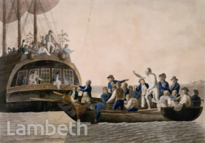 CAPTAIN BLIGH, MUTINY ON THE BOUNTY, SOUTH PACIFIC