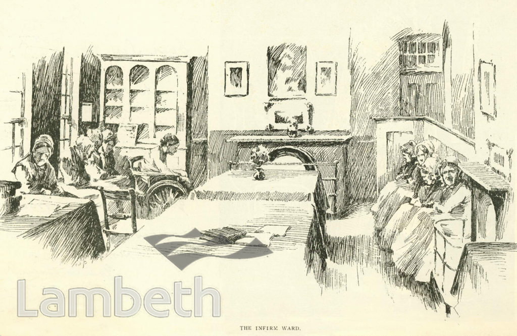 THE INFIRM WARD, LAMBETH WORKHOUSE, RENFREW ROAD, KENNINGTON