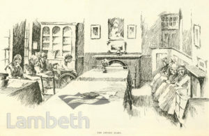 THE INFIRM WARD, LAMBETH WORKHOUSE, RENFREW ROAD, KENNINGTON
