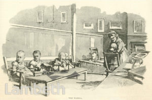 BABIES, LAMBETH WORKHOUSE, RENFREW ROAD, KENNINGTON