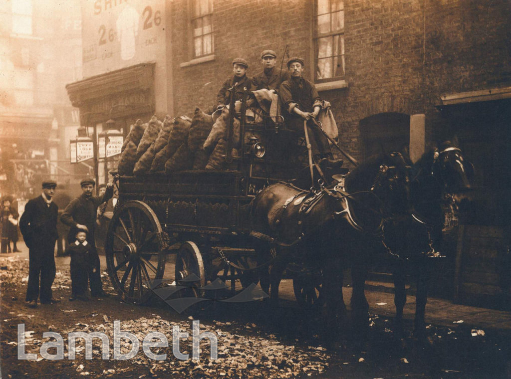 DELIVERY, JOHNSON'S GREENGROCERS, WAKE STREET, LAMBETH