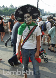 MEXICAN OLYMPICS TEAM SUPPORTER, SOUTH BANK