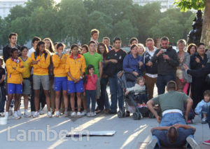 COLOMBIAN OLYMPIC TEAM MEMBERS, SOUTH BANK