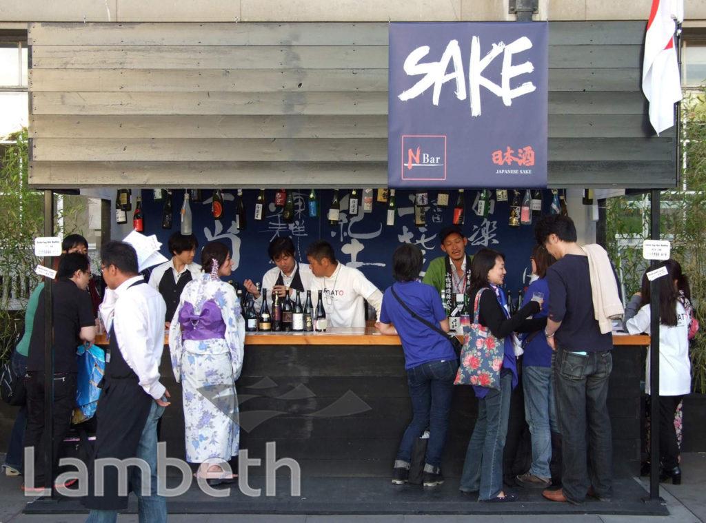 SAKE JAPANESE BAR, COUNTY HALL, SOUTH BANK