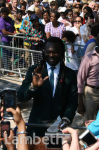 LEVI ROOTS, OLYMPIC TORCH CHANGEOVER, BRIXTON OVAL