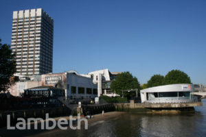 AL JAZEERA STUDIO AND ST GABRIEL'S WHARF, SOUTH BANK