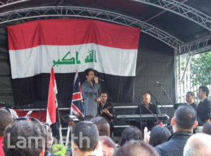 IRAQI MUSICIANS, SOUTH BANK, WATERLOO