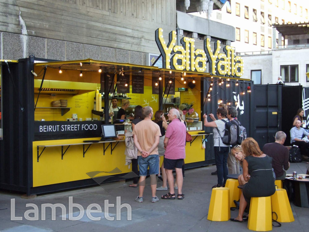 YALLA YALLA, BEIRUT STREET FOOD, POP-UP CAFE, SOUTH BANK