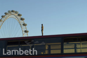 ANTHONY GORMLEY SCULPTURE, SOUTH BANK