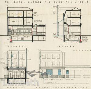 ROYAL GEORGE PUBLIC HOUSE, CARLISLE STREET, LAMBETH
