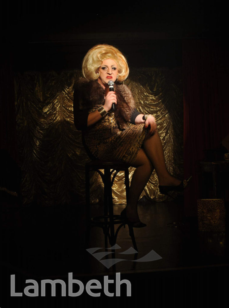 MYRA DUBOIS, ROYAL VAUXHALL TAVERN, KENNINGTON LANE