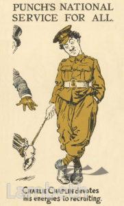 CHARLIE CHAPLIN, WORLD WAR I