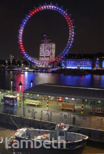 ROYAL BIRTH CELEBRATION, LONDON EYE, SOUTH BANK