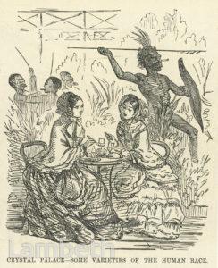 LADIES TAKING TEA, CRYSTAL PALACE