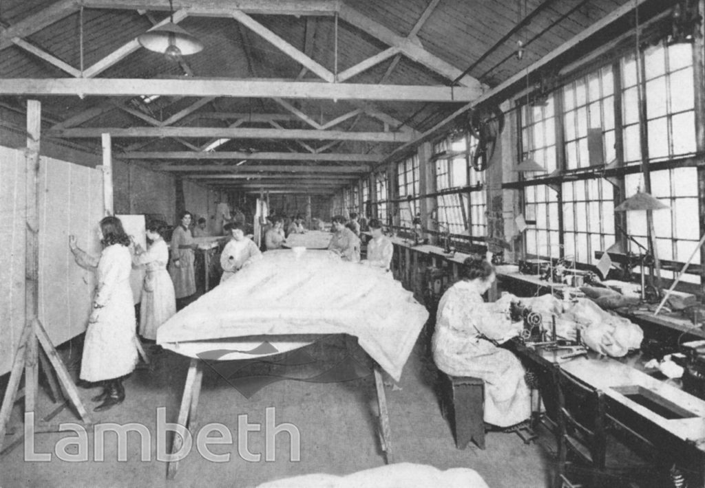 WORLD WAR I AIRCRAFT MANUFACTURING, CROWN WORKS, VAUXHALL