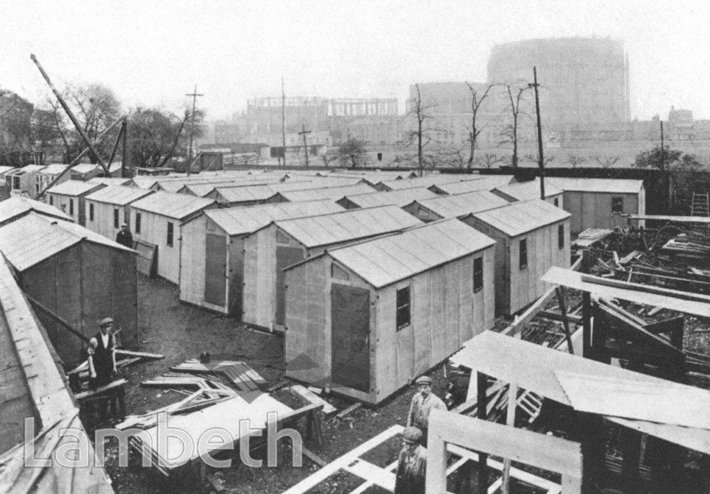WORLD WAR I PREFAB CONSTRUCTION, CROWN WORKS, VAUXHALL