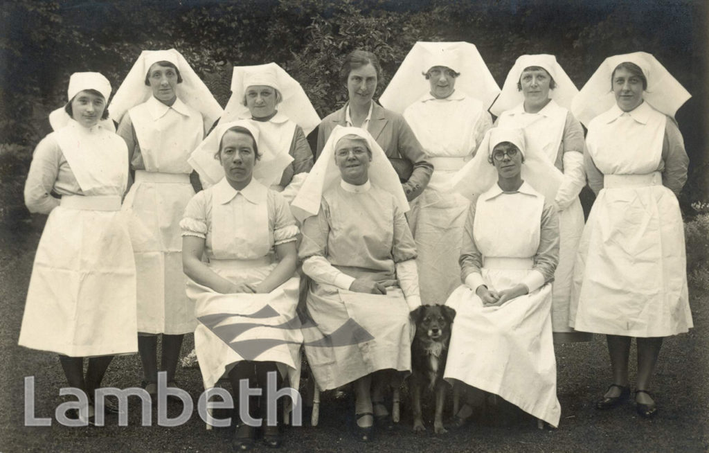 LAMBETH MATERNITY HOME STAFF, HANNEN ROAD, WEST NORWOOD