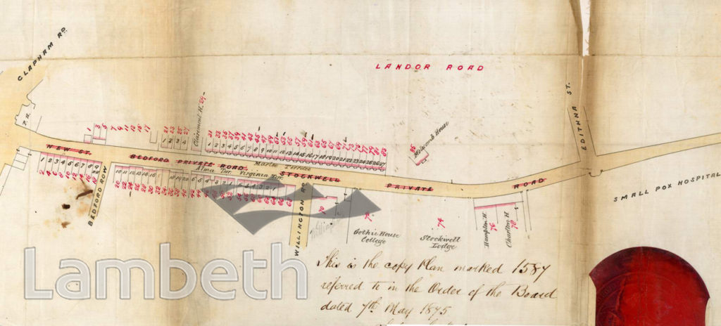 LANDOR ROAD, CLAPHAM / STOCKWELL