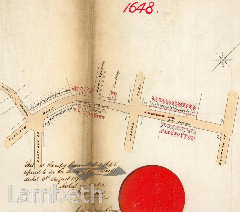 FLAXMAN ROAD, LOUGHBOROUGH JUNCTION