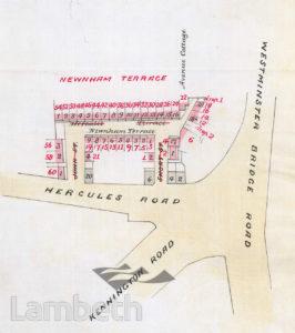 NEWNHAM TERRACE, LAMBETH
