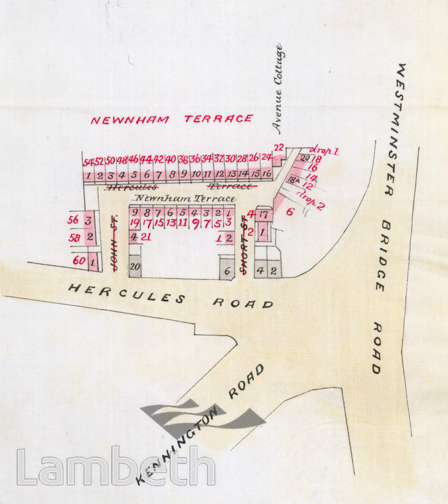 NEWNHAM TERRACE, LAMBETH