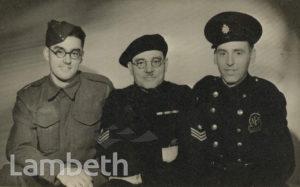 ALFRED ADAMS WITH SONS, LAMBETH ARP, WORLD WAR II
