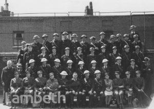 LAMBETH CIVIL DEFENCE ARP, WORLD WAR II