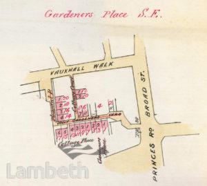 GARDENER'S PLACE, LAMBETH