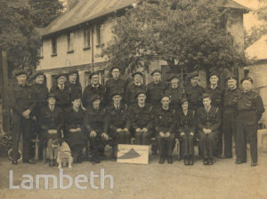 LAMBETH CIVIL DEFENCE WARDENS' POST 37, WORLD WAR 2