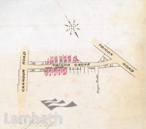 TRIGON GROVE, SOUTH LAMBETH