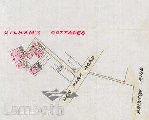 GILHAM'S COTTAGES, BRIXTON HILL