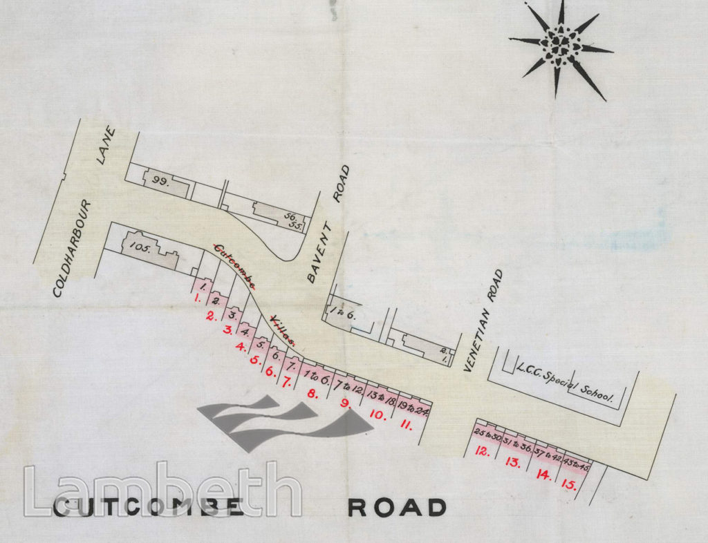 CUTCOMBE ROAD, LOUGHBOROUGH JUNCTION