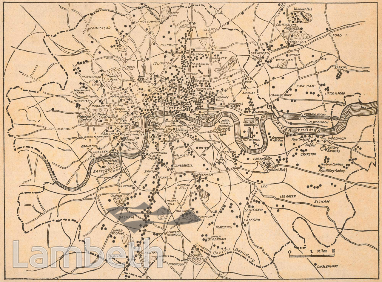 London Map World.London Bomb Map World War I Landmarklandmark
