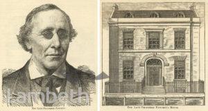 HENRY FAWCETT, THE LAWN, SOUTH LAMBETH ROAD, VAUXHALL