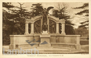 J.WHITEHEAD, KENNINGTON – TITANIC MEMORIAL, SOUTHAMPTON