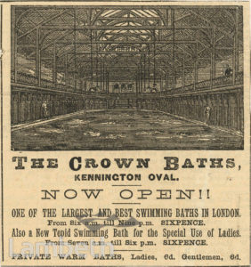 CROWN BATHS, KENNINGTON OVAL