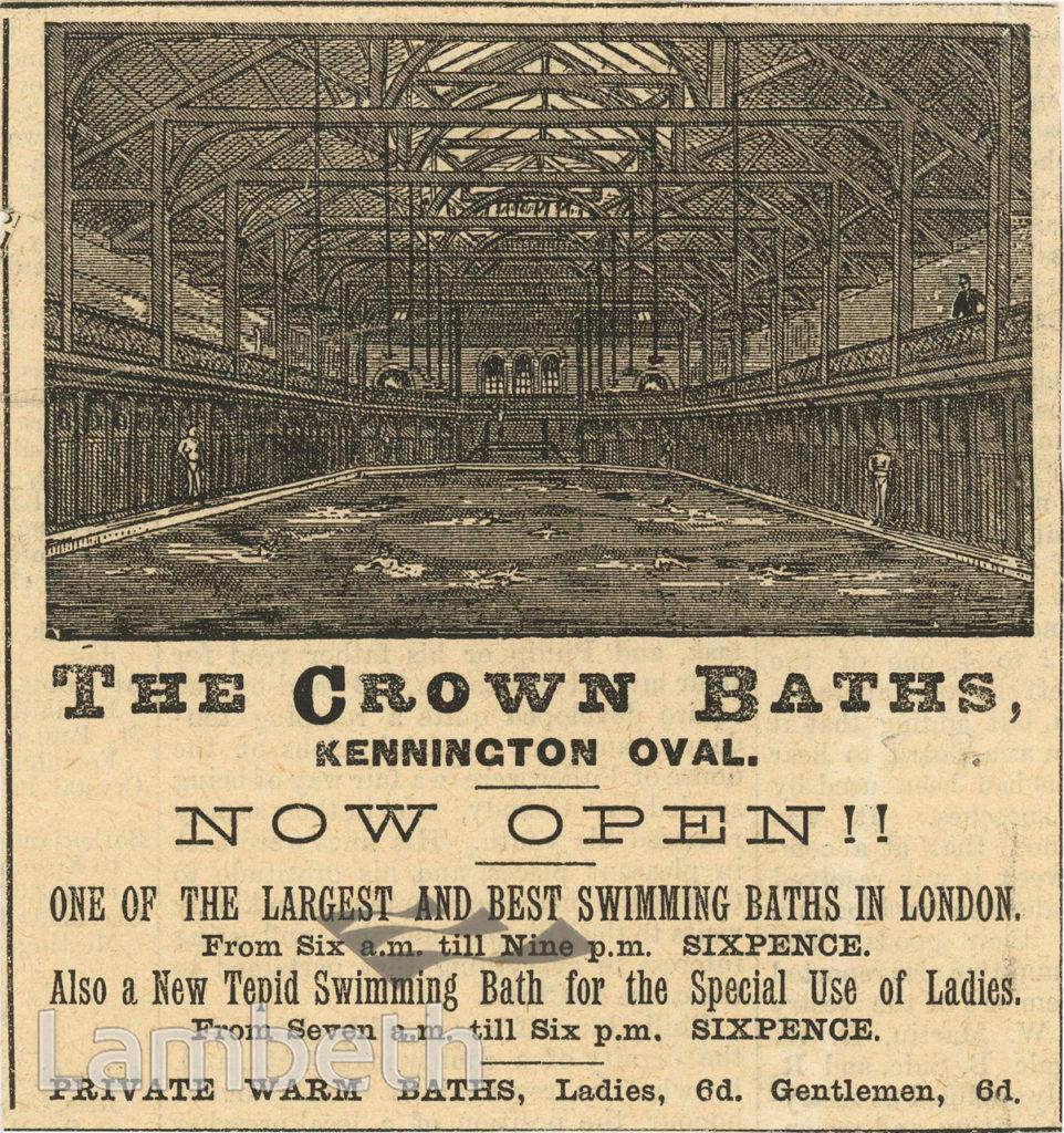 CROWN BATHS, KENNINGTON OVAL