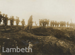 OFFICIAL WWI PHOTO: SOMME ADVANCE