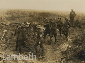 WWI PHOTO: LIEUT. B GEARY V.C, EAST SURREY REGIMENT, WOUNDED