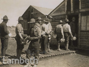 OFFICIAL WWI PHOTO: AMERICAN ENGINEERS' CAMP