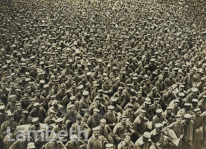 OFFICIAL WWI PHOTO: GERMAN PRISONERS OF WAR