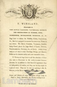 FIREWORKS: T. WINSLADE, VAUXHALL GARDENS