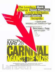 ANTI-NAZI LEAGUE CARNIVAL, BROCKWELL PARK, HERNE HILL