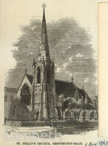 ST PHILIP'S CHURCH, KENNINGTON ROAD, KENNINGTON