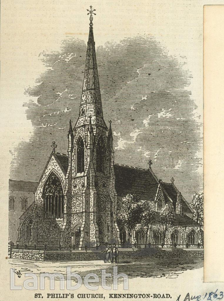 ST PHILIP'S CHURCH, KENNINGTON ROAD, KENNINGTON
