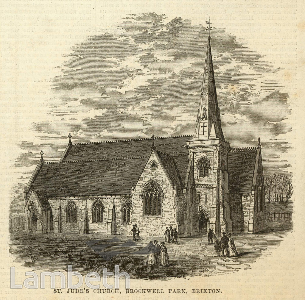 ST JUDE'S CHURCH, DULWICH ROAD, HERNE HILL