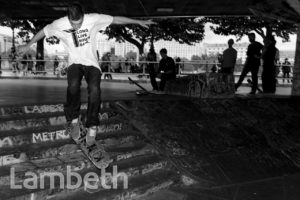 SKATEBOARD PARK, SOUTHBANK, WATERLOO