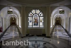 11th LAMBETH BATTALION MEMORIAL, LAMBETH TOWN HALL, BRIXTON