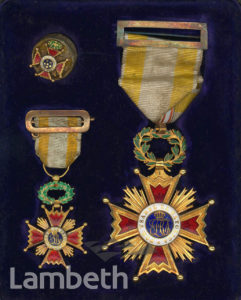 ORDER OF SPAIN, AWARDED TO BLONDIN