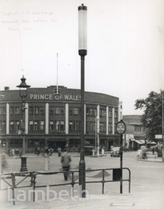 PRINCE OF WALES PUBLIC HOUSE, BRIXTON ROAD, BRIXTON